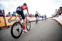 Martijn Tusveld (NED/Sunweb) in the race finale towards the finish (at almost 2000m alt.)<br /> <br /> Stage 5: L'Eliana to Observatorio Astrofísico de Javalambre (171km)<br /> La Vuelta 2019<br /> <br /> ©kramon