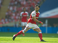 Rotherham Richie Towell during the Sky Bet League 1 Play Off FINAL match between Rotherham United and Shrewsbury Town at Wembley, London, England on 27 May 2018. Photo by Andrew Aleksiejczuk / PRiME Media Images.