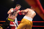 Danish Fight Night.<br /> Frederiksberg Hallerne 29/4-2016.<br /> JONAS MADSEN. vs. GIORGI KANDELAKI