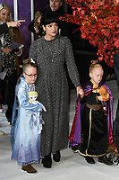 "Lilly Allen and daughters, Marnie and Ethel<br /> arriving for the ""Frozen 2"" premiere at the BFI South Bank, London.<br /> <br /> ©Ash Knotek  D3537 17/11/2019"