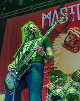 Mastodon at Mayhem Fest 2013 in Atlanta, GA.