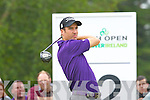 Last years Champion Ross Fisher in action at the Irish Open in Killarney on Friday..................