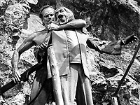 Planet of the Apes (1968) <br /> Charlton Heston &amp; Maurice Evans<br /> *Filmstill - Editorial Use Only*<br /> CAP/KFS<br /> Image supplied by Capital Pictures