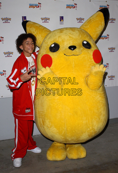 KHLEO THOMAS.2nd Annual Frankie Muniz HoopLA held at the Los Angeles Sports Arena in Los Angeles, California. Pokemon Trading Card Game hosts the celebrity basketball event to benefit Starlight Children's Foundation .14 March 2004.*UK Sales Only*.full length, full-length.www.capitalpictures.com.sales@capitalpictures.com.©Capital Pictures.
