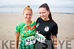 Pictured at the Brandon Bay Half Marathon and 10k were Dainora Jusiuviene, Deimante Duividaviciene (Lithuania)