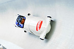 19 December 2010: Alexander Kasjanov pilots his 4-Man Bobsled team to a 5th place finish for Russia at the Viessmann FIBT World Cup Championships on Mount Van Hoevenberg in Lake Placid, New York, USA. Mandatory Credit: Ed Wolfstein Photo