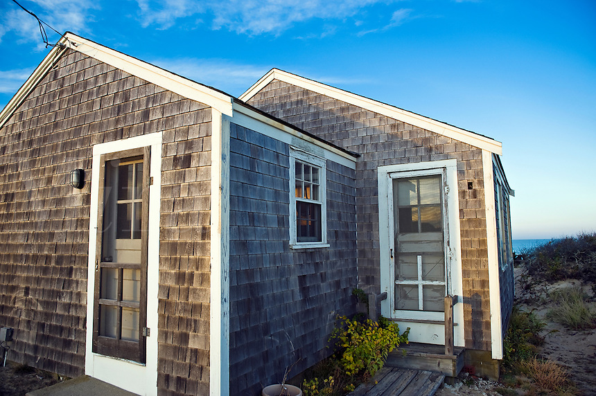Beach cottage, Eastham, Cape Cod, MA, Massachusetts, USA