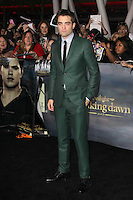 LOS ANGELES, CA - NOVEMBER 12: Robert Pattinson at the premiere of Summit Entertainment's 'The Twilight Saga: Breaking Dawn - Part 2' at the Nokia Theatre L.A. Live on November 12, 2012 in Los Angeles, California. Credit: mpi29/MediaPunch Inc. /NortePhoto