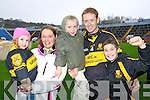 Pictured at Pairc Ui Chaoimh on Sunday for the Crokes v  Castlehaven senior club final game were l-r:  Aoife Cooper, Helen Cooper, Liam Cooper, Colm Cooper and Mark Cooper..