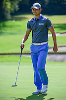 Martin Kaymer (GER) after sinking his putt on 1 during round 1 of the World Golf Championships, Mexico, Club De Golf Chapultepec, Mexico City, Mexico. 3/2/2017.<br /> Picture: Golffile | Ken Murray<br /> <br /> <br /> All photo usage must carry mandatory copyright credit (&copy; Golffile | Ken Murray)