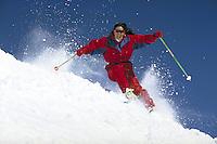 A.J. Cargill (MR228) alpine skiing, Breckenridge Ski Area, Summit County, CO. A.J.Cargill (MR228). Summit County, Colorado.