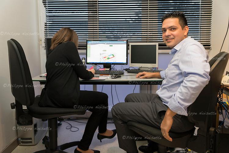 Yann Gobrait, directeur et fondateur de la société ILTR, spécialisée dans les logiciels pour la gestion de l'occupation de l'espace public.