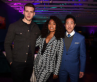 LOS ANGELES, CA - FEBRUARY 6:  9-11 cast members Oliver Stark, Angela Basset and Kenneth Choi attends the FOX Winter TCA 2019 All Star Party at The Fig House on February 6, 2019 in Los Angeles, California. (Photo by Frank Micelotta/Fox/PictureGroup)