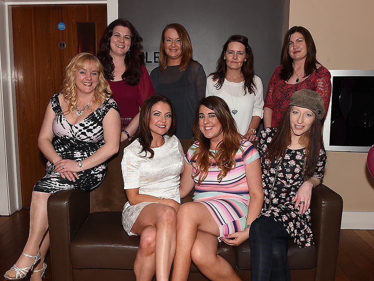 Gillian Carr celebrating her 40th birthday in Bru with friends. Photo:Colin Bell/pressphotos.ie