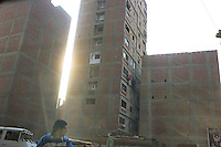 In the poor districts of Cairo