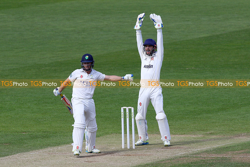 A successful appeal for the wicket of Mark Wallace by Essex skipper James Foster - Glamorgan CCC vs Essex CCC - LV County Championship Division Two Cricket at the SWALEC Stadium, Sophia Gardens, Cardiff, Wales - 20/05/15 - MANDATORY CREDIT: TGSPHOTO - Self billing applies where appropriate - contact@tgsphoto.co.uk - NO UNPAID USE