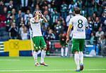 Stockholm 2014-06-18 Fotboll Superettan Hammarby IF - GAIS :  <br /> Hammarbys Marko Mihajlovic deppar<br /> (Foto: Kenta J&ouml;nsson) Nyckelord:  Superettan Tele2 Arena Hammarby HIF Bajen GAIS depp besviken besvikelse sorg ledsen deppig nedst&auml;md uppgiven sad disappointment disappointed dejected
