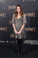 """Priscila de Gustin attends """"The Hobbit: An Unexpected Journey"""" premiere at the Callao cinema- Madrid."""