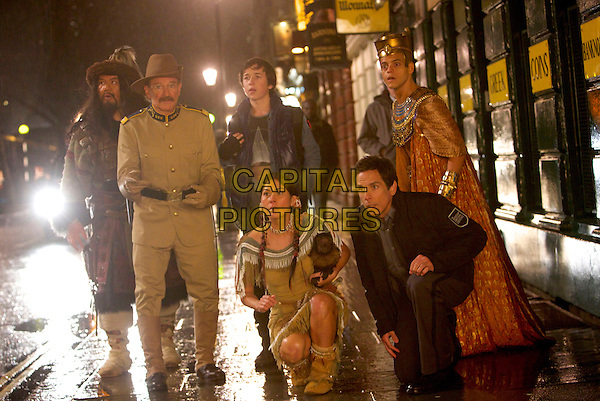 Patrick Gallagher, Robin Williams, Skyler Gisondo, Mizuo Peck, Ben Stiller, Rami Malek<br /> in Night at the Museum: Secret of the Tomb (2014) <br /> *Filmstill - Editorial Use Only*<br /> CAP/FB<br /> Image supplied by Capital Pictures