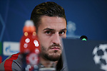 Koke of Atletico Madrid during the press conference at Juventus Stadium, Turin. Picture date: 25th November 2019. Picture credit should read: Jonathan Moscrop/Sportimage