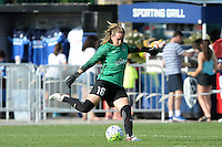 Kansas City, MO - Saturday July 16, 2016: Kelsey Wys during a regular season National Women's Soccer League (NWSL) match between FC Kansas City and the Washington Spirit at Swope Soccer Village.