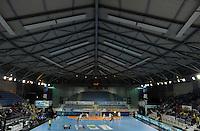 European Handball Federation EHF Handball - European Cup - Palais des Sports in St. Raphael - Toulon Saint Cyr Var HB (FRA) vs. HC Leipzig (GER) - im Bild: TOTALE _ PALAIS DES SPORTS ST. RAPHAEL..Foto: aif / Norman Rembarz..Jegliche kommerzielle wie redaktionelle Nutzung ist honorar- und mehrwertsteuerpflichtig! Persönlichkeitsrechte sind zu wahren. Es wird keine Haftung übernommen bei Verletzung von Rechten Dritter. Autoren-Nennung gem. §13 UrhGes. wird verlangt. Weitergabe an Dritte nur nach  vorheriger Absprache. Online-Nutzung ist separat kostenpflichtig..