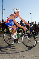 25 JUN 2011 - PONTEVEDRA, ESP - Harry Wiltshire (GBR) - Elite Men's European Triathlon Championships in Pontevedra, Spain (PHOTO (C) NIGEL FARROW)