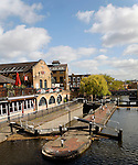 Regent's canal, Camden Lock, London