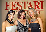 From left: Rachel Brown, Debbie Festari and Robin Reimer at the Una Notte in Italia party at the Intercontinental Houston Hotel Saturday Nov. 07,2009. (Dave Rossman/For the Chronicle)