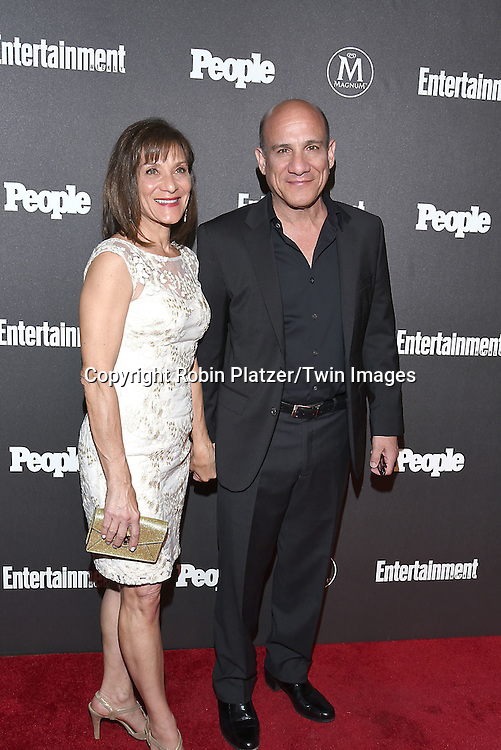 Paul Ben-Victor and sister attends the Entertainment Weekly &amp; PEOPLE Magazine New York Upfronts Celebration on May 16, 2016 at Cedar Lake in New York, New York, USA.<br /> <br /> photo by Robin Platzer/Twin Images<br />  <br /> phone number 212-935-0770