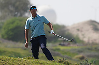 Nicolas Colsaerts (BEL) on the 9th during Round 3 of the Oman Open 2020 at the Al Mouj Golf Club, Muscat, Oman . 29/02/2020<br /> Picture: Golffile   Thos Caffrey<br /> <br /> <br /> All photo usage must carry mandatory copyright credit (© Golffile   Thos Caffrey)
