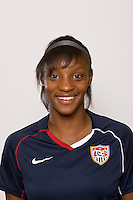 Crystal Dunn. U-17 USA Women's National Team head shots on September 16, 2008. Photo by Howard C. Smith/isiphotos.com