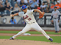 Daisuke Matsuzaka (Mets), AUGUST 23, 2013 - MLB : Daisuke Matsuzaka of New York Mets throws a pitch in their MLB baseball game between New York Mets and Detroit Tigers at Citi Field in New York on Friday August 23, 2013. (Photo by AFLO)