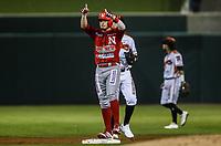 Alejandro Gonzalez de los mayos, durante juego de beisbol de la Liga Mexicana del Pacifico temporada 2017 2018. Tercer juego de la serie de playoffs entre Mayos de Navojoa vs Naranjeros. 04Enero2018. (Foto: Luis Gutierrez /NortePhoto.com)