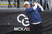 1st October 2017, Windross Farm, Auckland, New Zealand; LPGA McKayson NZ Womens Open, final round;  USAs Brittany Lincicome tees off