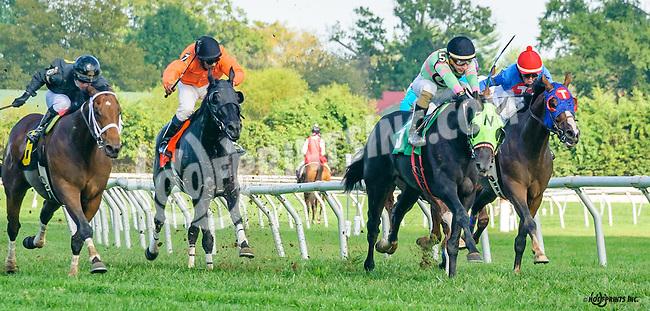 Northampton Kid winning at Delaware Park on 10/5/16