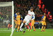 6th December 2017, Wembley Stadium, London England; UEFA Champions League football, Tottenham Hotspur versus Apoel Nicosia; Fernando Llorente of Tottenham Hotspur