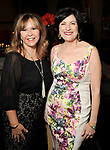 Cyndy Garza Roberts and Ellie Francisco at the Recipe for Success' Delicious Alchemy Dinner at the home of Becca Cason Thrash Wednesday April 19,2017.(Dave Rossman Photo)