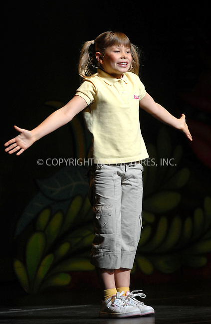 WWW.ACEPIXS.COM . . . . . ....January 20, 2007, New York City. ....Bindi Irwin performs live with The Crocmen during the G'Day USA Aussie Family Concert at New York City Center.....Please byline: KRISTIN CALLAHAN - ACEPIXS.COM.. . . . . . ..Ace Pictures, Inc:  ..(212) 243-8787 or (646) 769 0430..e-mail: info@acepixs.com..web: http://www.acepixs.com