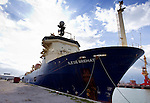 "CALAIS - FRANCE - 20 May 2015 -- In October 2015 the French ship ""Ile de Brehat"" will start laying a 1200 km long subsea optical cable from Helsinki to Rostock Germany. -- PHOTO: Juha ROININEN / EUP-IMAGES"