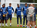 17.07.2019: Rangers training: Jermain Defoe, Sheyi Ojo, Borna Barisic, Joe Aribo and Connor Goldson