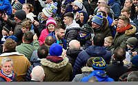 Leeds United's Stuart Dallas arrives at the ground<br /> <br /> Photographer Chris Vaughan/CameraSport<br /> <br /> The EFL Sky Bet Championship - Leeds United v Sheffield Wednesday - Saturday 11th January 2020 - Elland Road - Leeds<br /> <br /> World Copyright © 2020 CameraSport. All rights reserved. 43 Linden Ave. Countesthorpe. Leicester. England. LE8 5PG - Tel: +44 (0) 116 277 4147 - admin@camerasport.com - www.camerasport.com