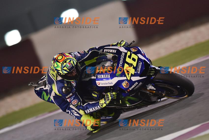 Losail (Qatar) 17-03-2016 - prove libere Moto GP - free practice - Qatar  / foto Luca Gambuti/Image Sport/Insidefoto<br /> nella foto: Valentino Rossi