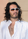 Russell Brand at The White Party presented by P-Diddy ,Ashton Kutcher & Malaria No More held at  private Estate in Cold Water Canyon, California on July 04,2009                                                                   Copyright 2009 Debbie VanStory / RockinExposures