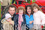 Having a family day out at the Vintage rally in Killarney on Sunday were l-r: Sorcha, John, Liadh, Eileen, and Emer Beazley Muckross   Copyright Kerry's Eye 2008
