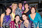 FASHION: Enjoying the Fashion in aid of Build 4 Life in The Ballyseedy garden Centre, on Friday evning were: Joan O'Connor, Lisa Belmour, Helen O'Carroll, Adel McEntee, Ann O'Connor, Bernadett O'Sullivan and Mary O'Connor...   Copyright Kerry's Eye 2008
