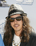 Musician Cisco Adler arrives to the 2008 MTV Movie Awards on June 1, 2008 at the Gibson Amphitheatre in Universal City, California.