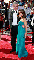 US actress Susan Lucci meets Patrick Duffy as she arrives at the 35th Annual Daytime Emmy Awards held at the Kodak Theatre in Los Angeles on June 20, 2008.
