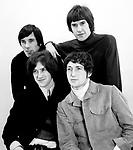 Kinks 1966 Mick Avory, Ray Davies, Pete Quaife and Dave Davies.© Chris Walter.