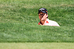 Graeme McDowell on the first hole the final round of the BMW PGA championship 2010 at Wentworth golf club, Surrey, England..Picture Manus O'Reilly/Newsfile.ie
